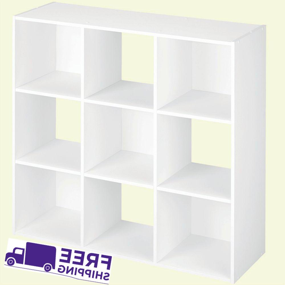 Closetmaid 9 Compartment White Laminate Storage Cube Organiz