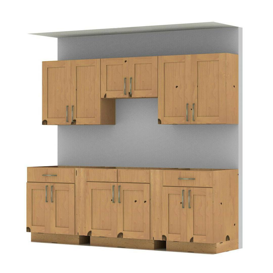 "96"" Kitchen Cabinets Overlay Sale"
