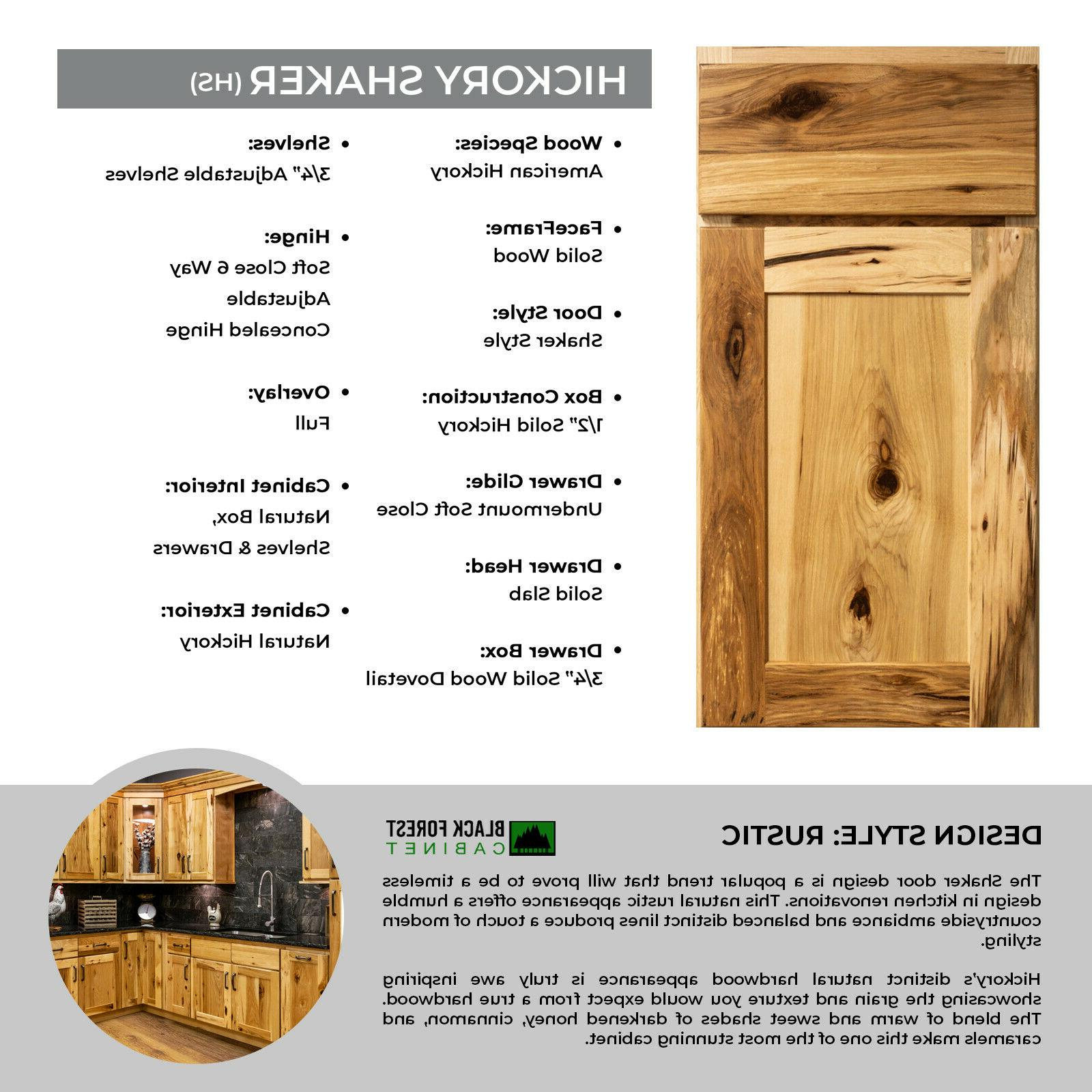 "96"" Wood Kitchen Cabinets Full Overlay Group Sale"
