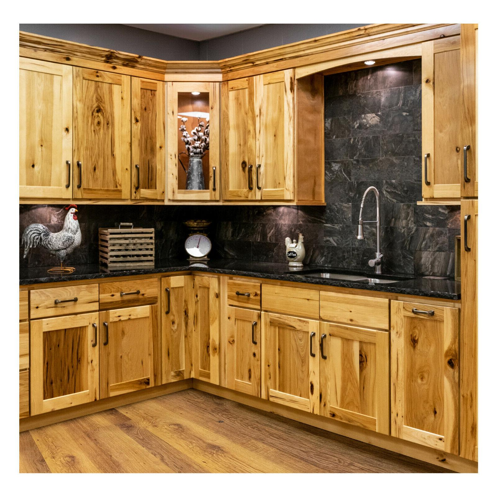 96 solid wood kitchen cabinets full overlay