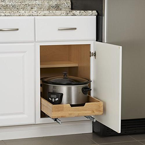 Household 4521-1 1- Sliding - Out Cabinet Shelf - 14.5 Inches