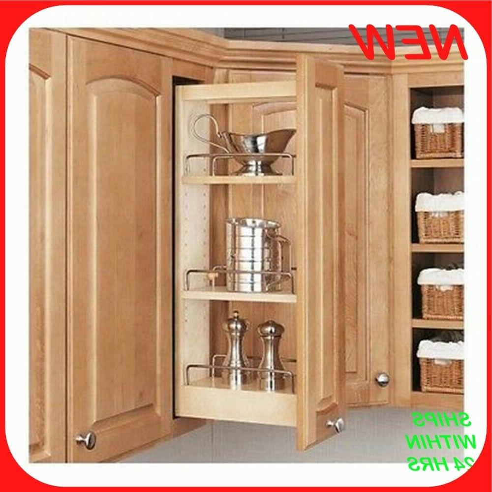 Rev-A-Shelf - 448-WC-5C - 5 in. Pull-Out Wood Wall Cabinet O