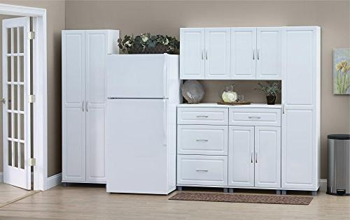 SystemBuild Utility Cabinet, White