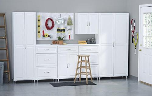 """SystemBuild 24"""" Utility Cabinet, White"""