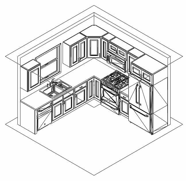 All 10X10 Traditional Kitchen Cabinets Pul