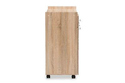 Baxton and Contemporary Light Oak and
