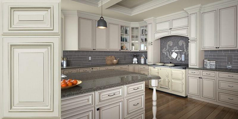 Cream Colored Kitchen Cabinets 10x10 Free Shipping