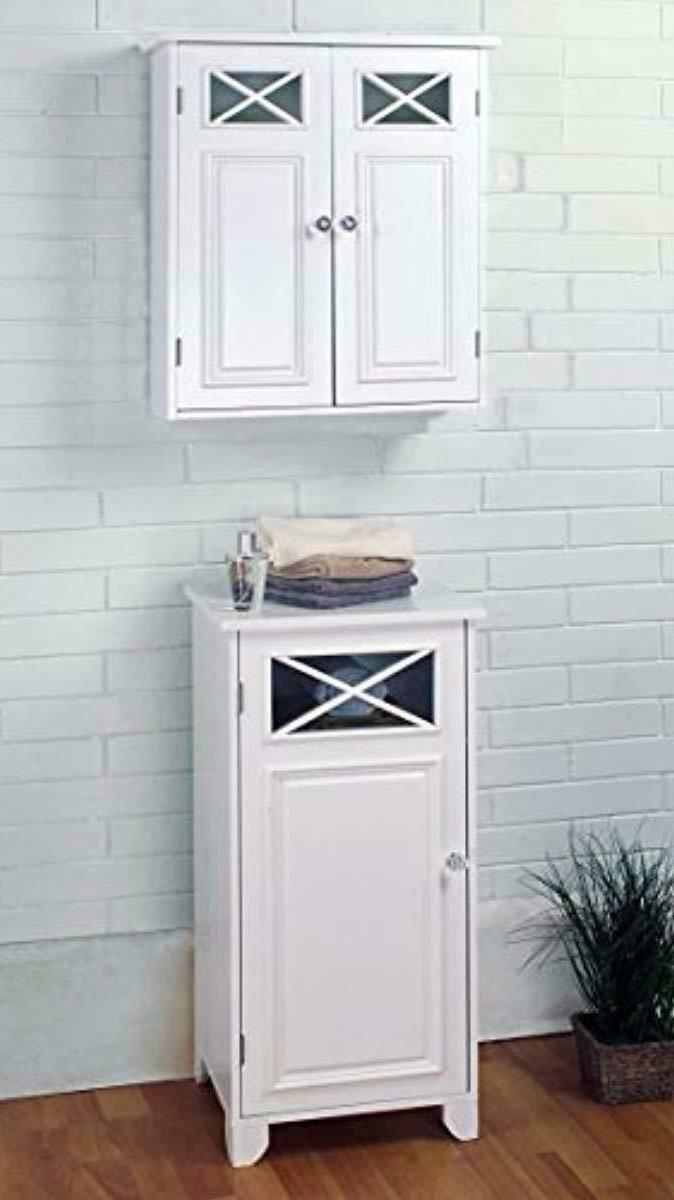 Elegant Home Fashions Collection Wall White New