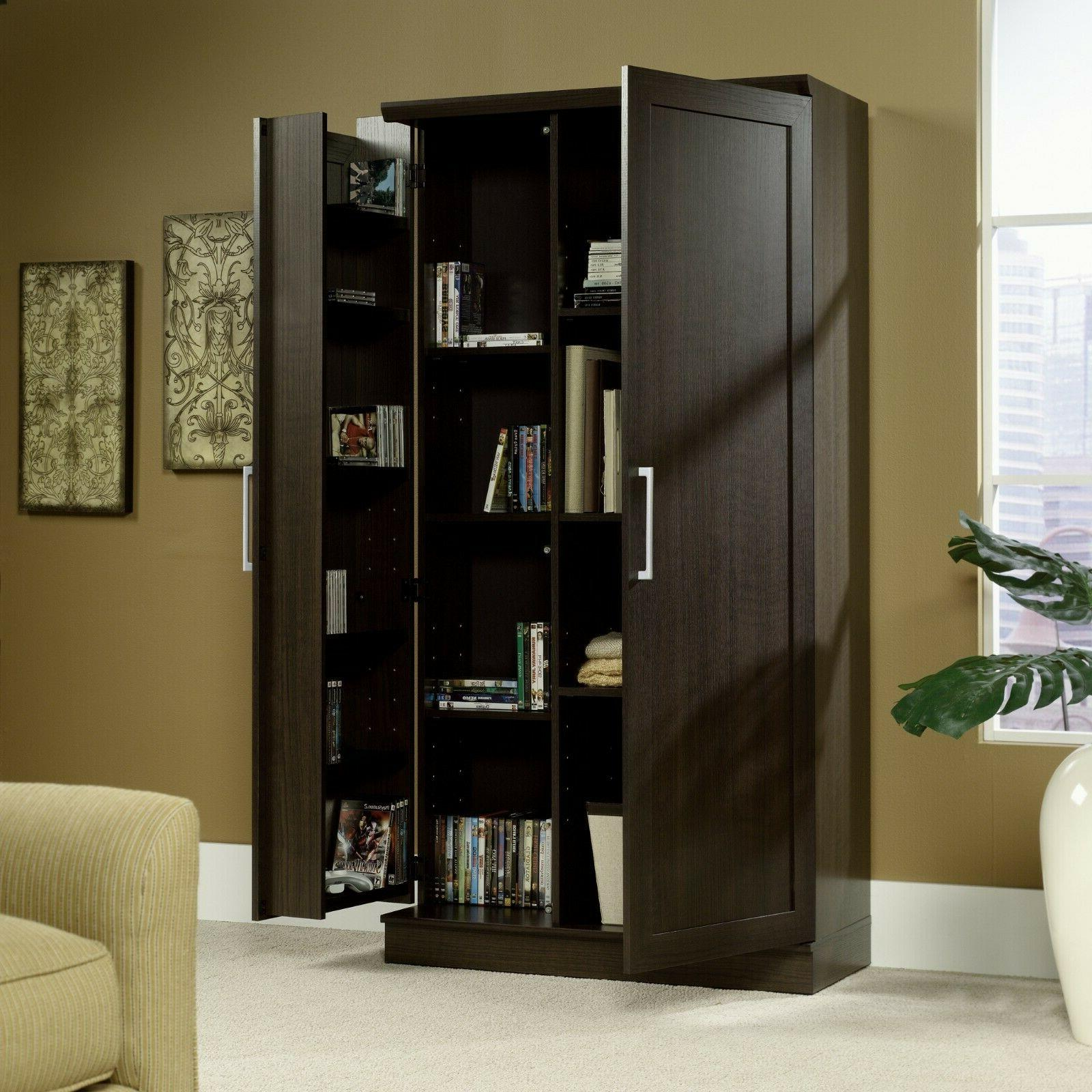 double door storage cabinet