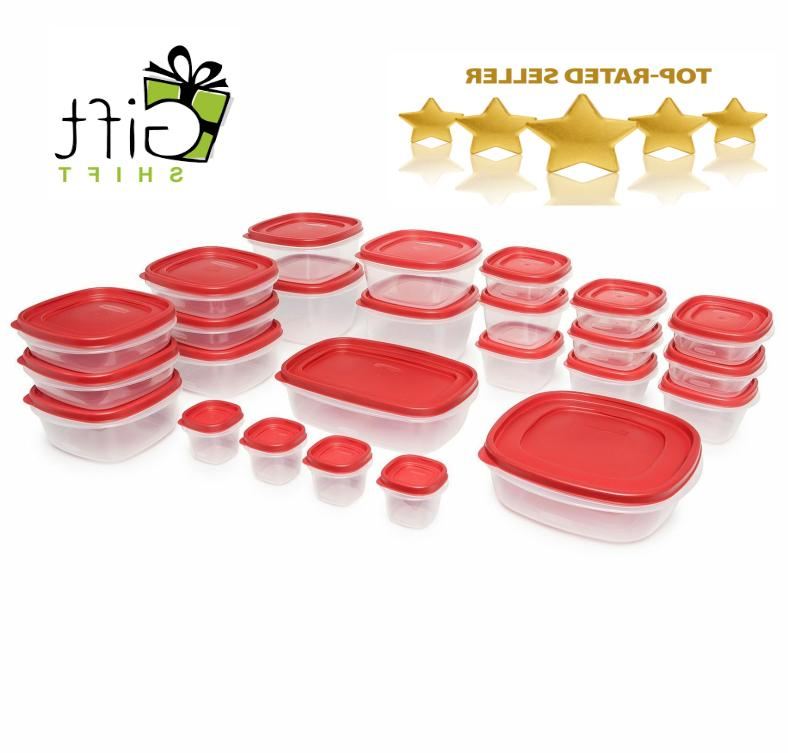 easy find food plastic storage