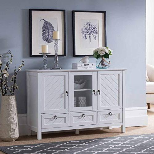 evans sideboard buffet console table