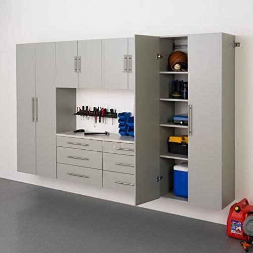 Prepac Cabinet, Light Gray