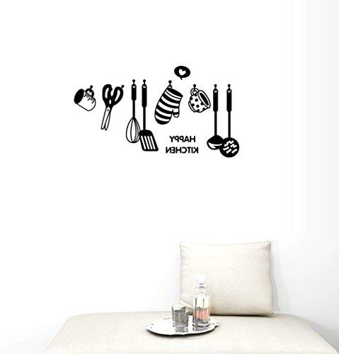 BIBITIME KITCHEN Sayings Quotes All of cooking Cookers Cups Turner Silhouette Kitchen