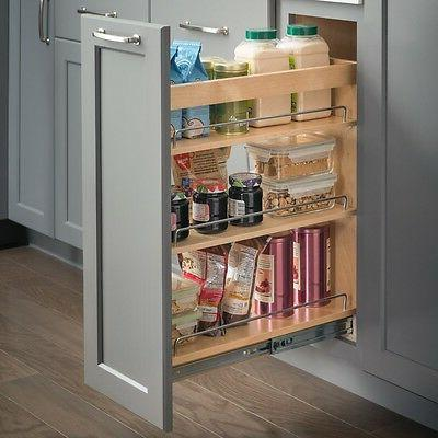 kitchen cabinet base cabinet pullout 10 x