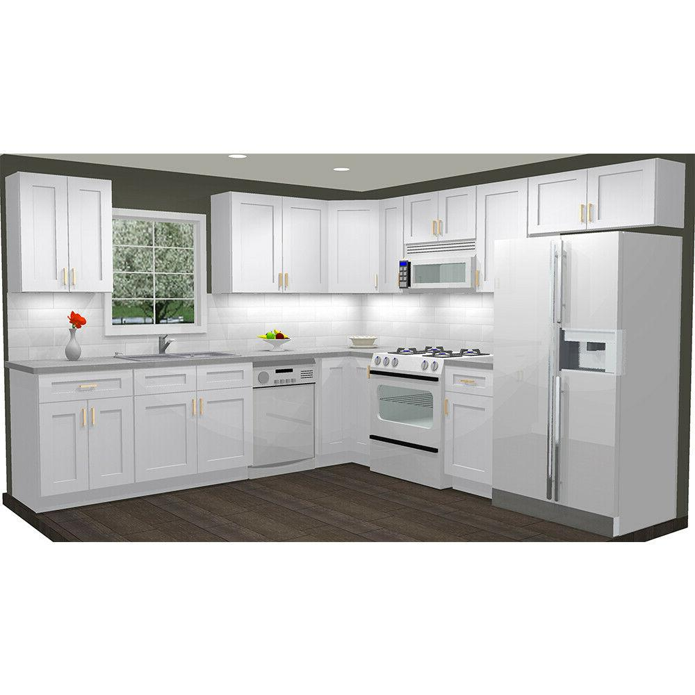 kitchen cabinets wood 10x10 rta group fully