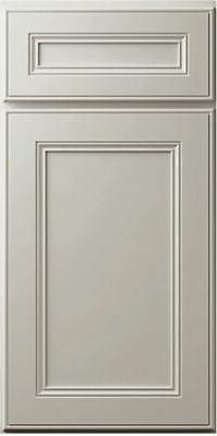 Linen White Kitchen Cabinets-SAMPLE DOOR RTA-All wood, IN ST