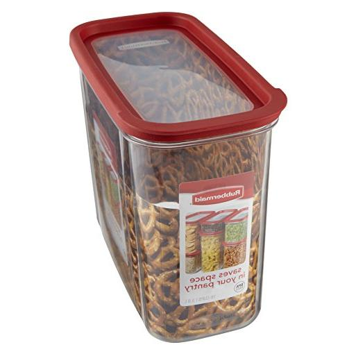 Rubbermaid Modular Canister, Cup, Red 1840749