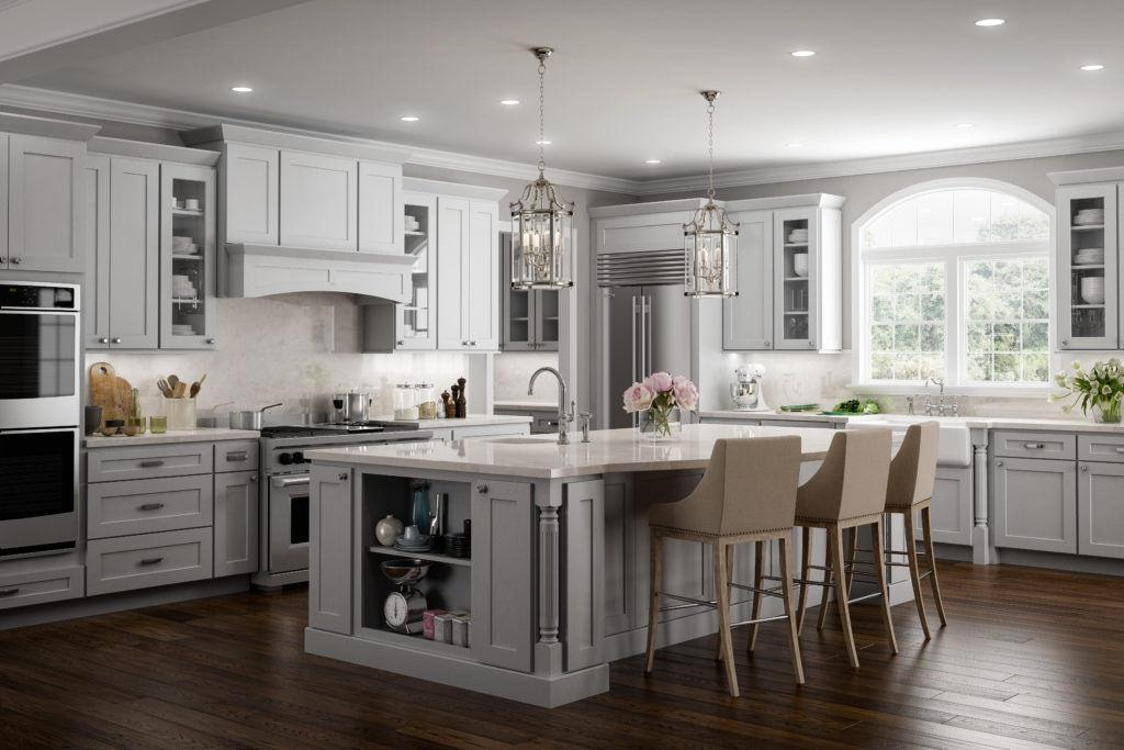 Norwich Gray Shaker JSI Kitchen
