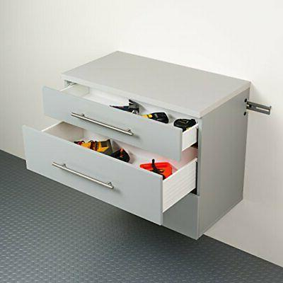 Base Storage Cabinet, Gray