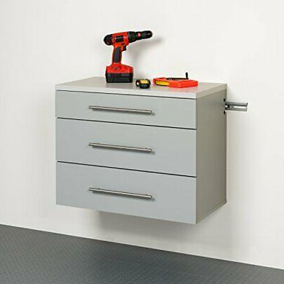 Prepac Hang-Ups Base Storage Gray