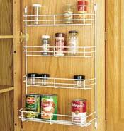 Rev A Shelf Rs565.8.52 7-.88 In. Door Storage Wire Spice Rac