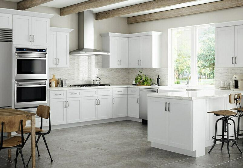 Lily Ann Cabinets 10 Shaker White
