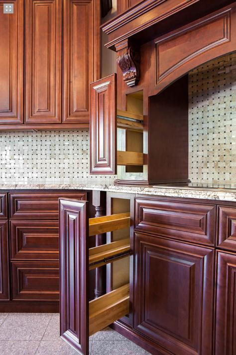 RTA Wood Kitchen Cabinets In MAPLE