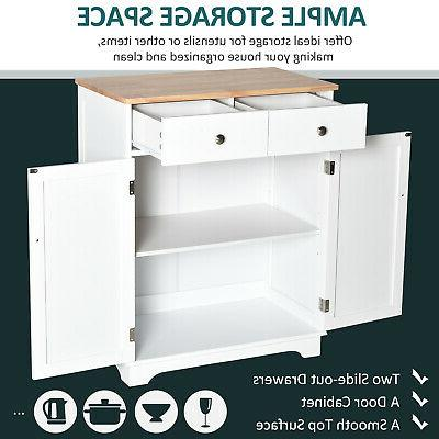 HOMCOM Cabinet, Adjustable