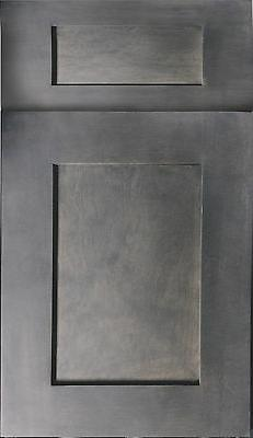 Rustic Grey Kitchen Cabinets-Sample door-RTA-All in stock