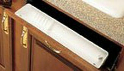 sink tip out trays plastic 22 l