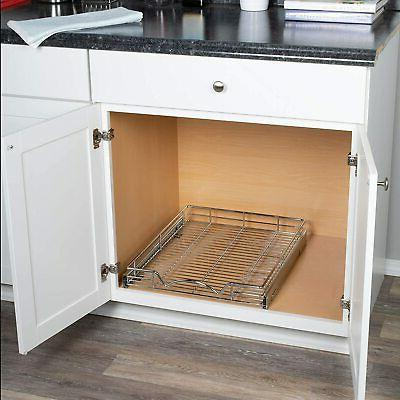 Kitchen Storage Shelves and