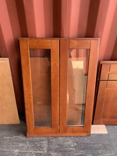 Solid Cherry framed cabinets