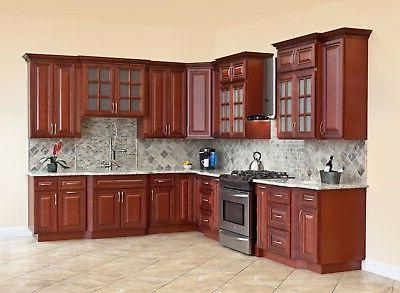 solid wood kitchen cabinets cherryville