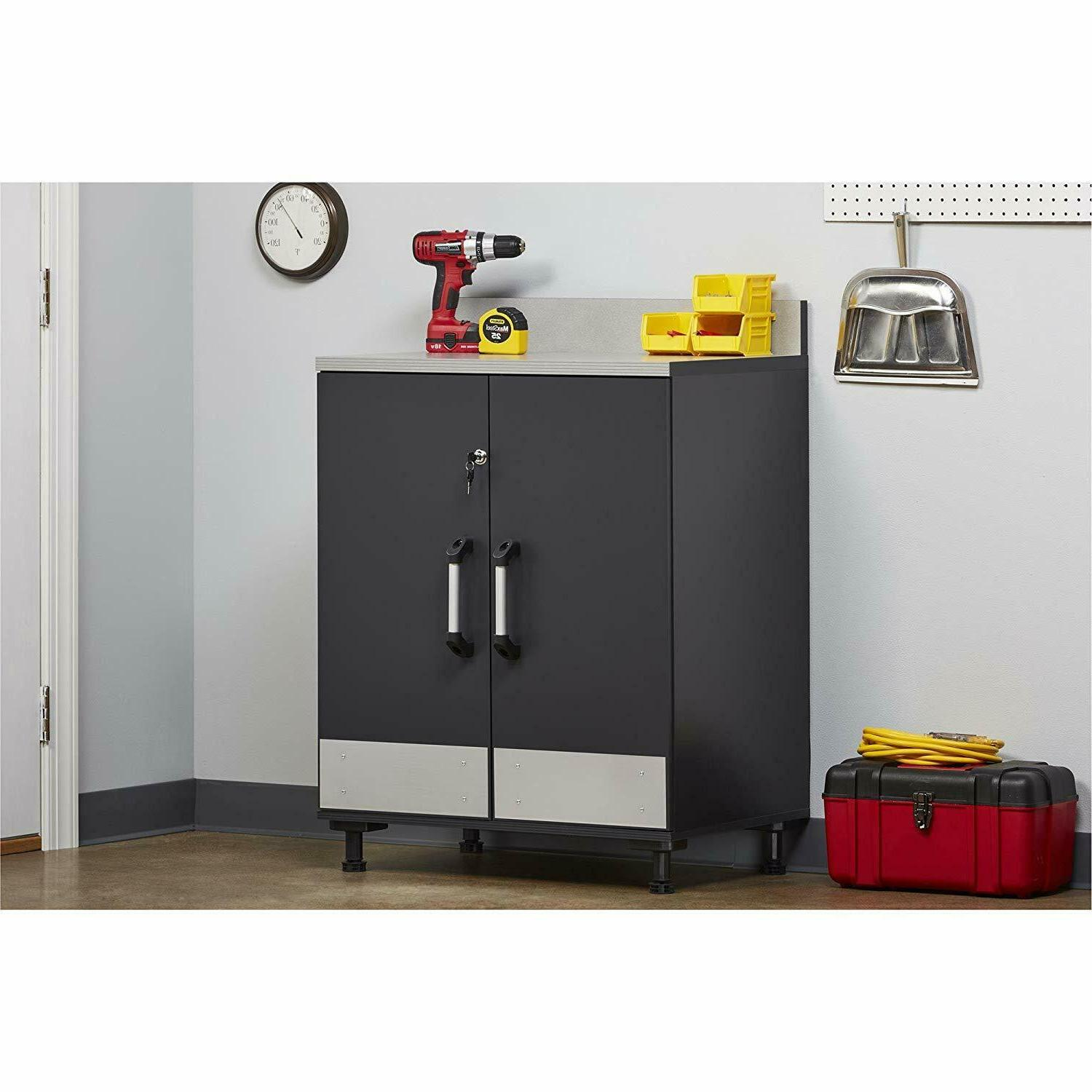 Systembuild Base Cabinet, Gray