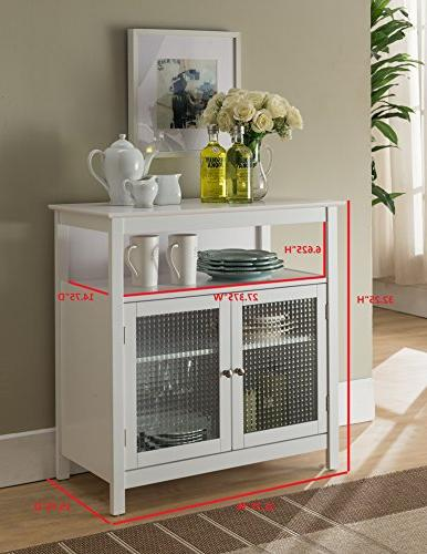 Kings Brand Finish Buffet with Doors