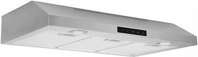 Kitchen Collection Stainless Hood,