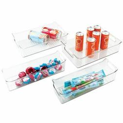 InterDesign Fridge Binz Storage Bins , Clear