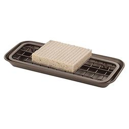 MDesign Storage & Organization Kitchen Sink Tray For Sponges