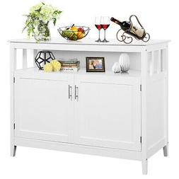 Modern Kitchen Storage Cabinet Buffet Server Table Sideboard