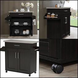 Movable Island For Kitchen Storage Carts On Wheels Trolley R