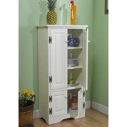 NEW Tall Cabinet Storage Kitchen Pantry Organizer Furniture