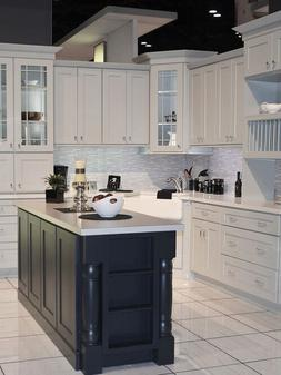 Norwich Gray Shaker Collection JSI 10x10 kitchen cabinets, K