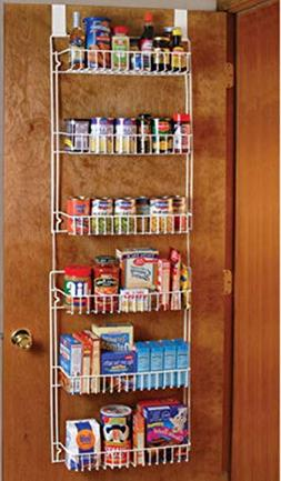 Good concept Over the Door Storage Shelf Kitchen Pantry Rack