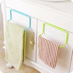 Over Door Towel Rack Bar Hanging Holder For Bathroom Kitchen