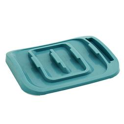 Pot Lid Holder, 5 Sectional Plastic Organizer for Kitchen Ca