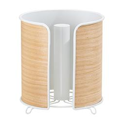 InterDesign RealWood Paper Towel Holder for Kitchen Countert