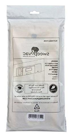 Sweep-o-Vac Replacement Bags - Vacuum Dust Bags for Sweepova