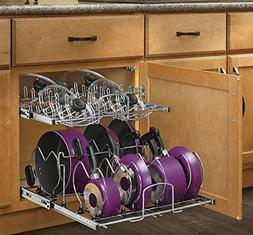 Rev-A-Shelf - 5CW2-2122-CR - 21 in. Pull-Out 2-Tier Base Cab