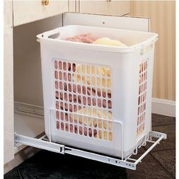 Rev-A-Shelf RHPRV-1520S 20 in. Pull-Out Hamper - White