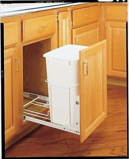 Rev-A-Shelf RV-18PB-1 Single 35 Qt. Pullout Waste Container